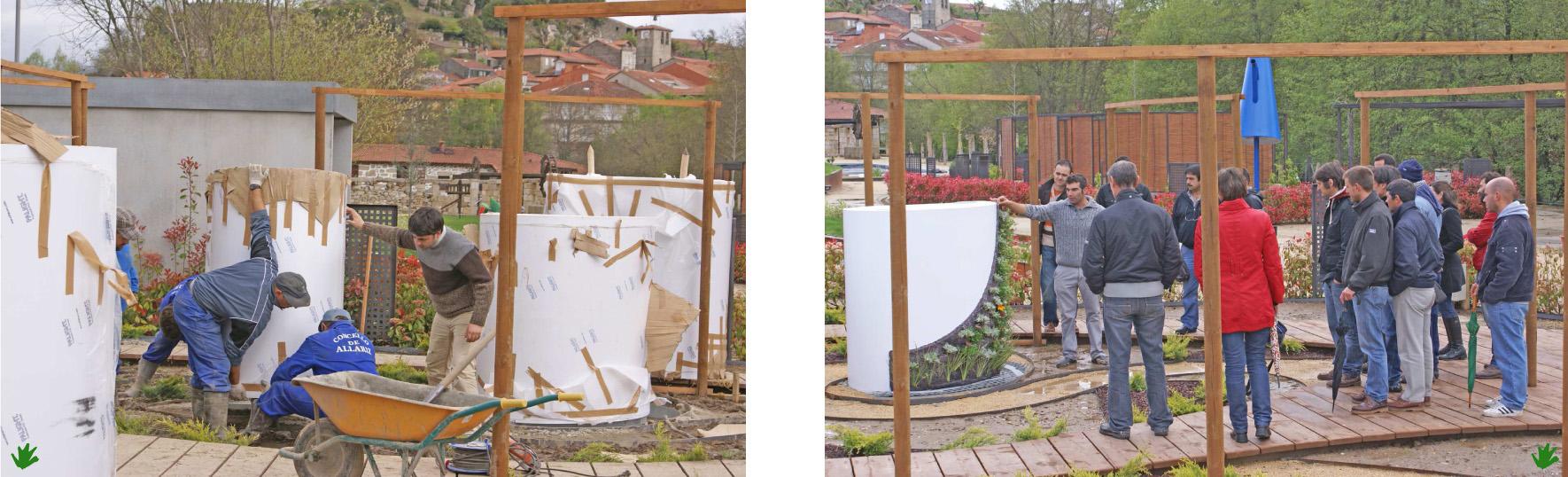 Cursos de jardines verticales paivert paivert for Jardines verticales construccion